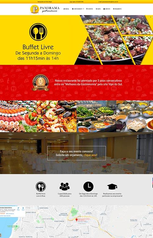 Panorama Gastronômico - Criação Sites Rápidos